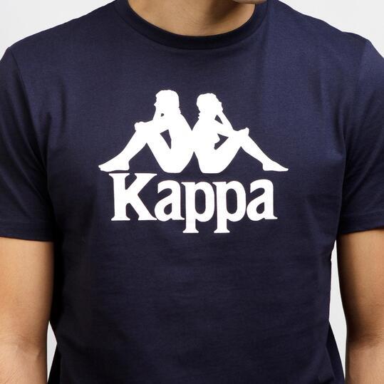 KAPPA Camiseta Manga Corta Marino Hombre