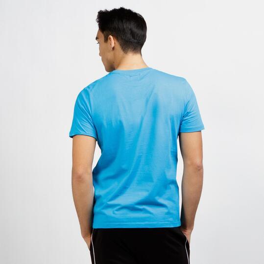 KAPPA Camiseta Manga Corta Turquesa Hombre