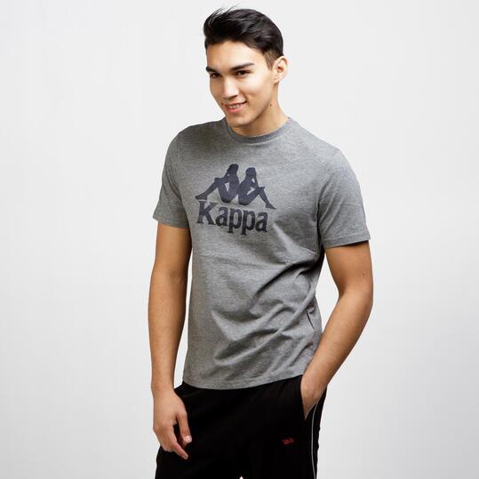 KAPPA Camiseta Manga Corta Gris Hombre