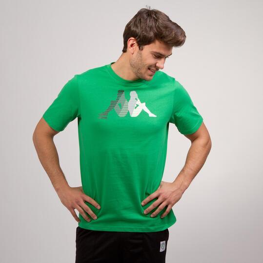 KAPPA LOGE Camiseta Verde Hombre