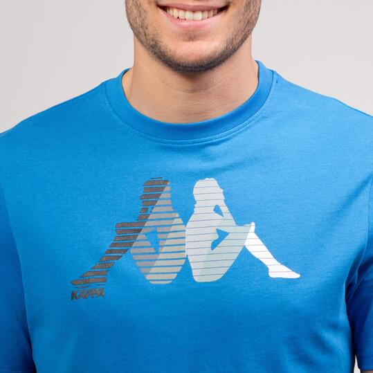 KAPPA LOGE Camiseta Azul Hombre