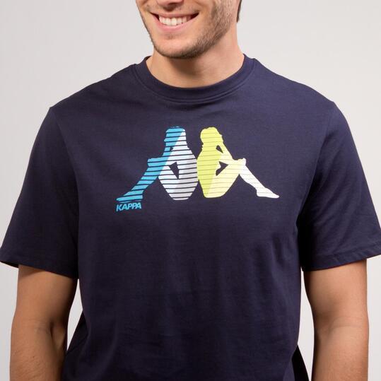 KAPPA LOGE Camiseta Marino Hombre