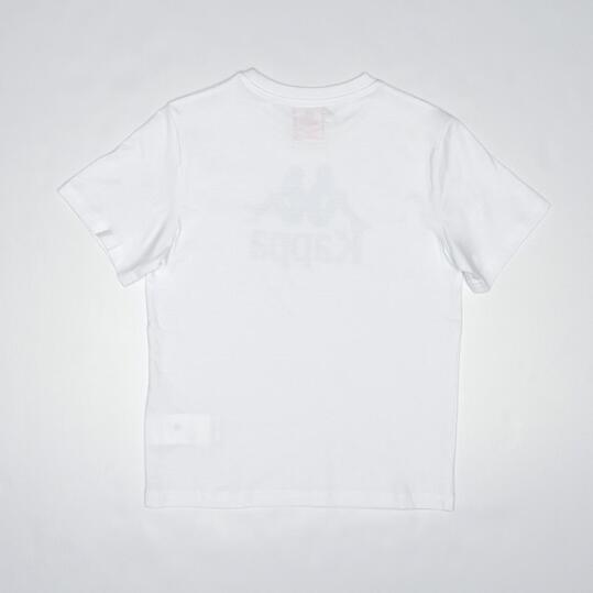 KAPPA WARREN Camiseta Blanca Niño (8-14)