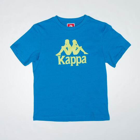 KAPPA WARREN Camiseta Turquesa Niño (8-14)