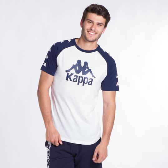 KAPPA BALDOON Camiseta Blanca Hombre