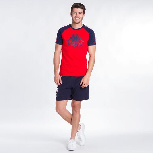 KAPPA BALDOON Camiseta Roja Hombre