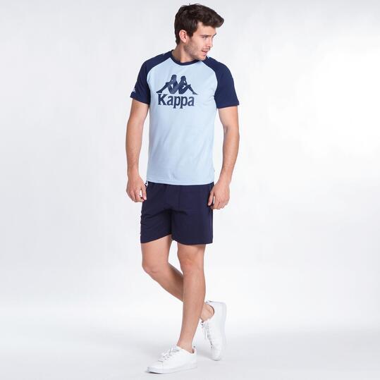 KAPPA BALDOON Camiseta Celeste Hombre