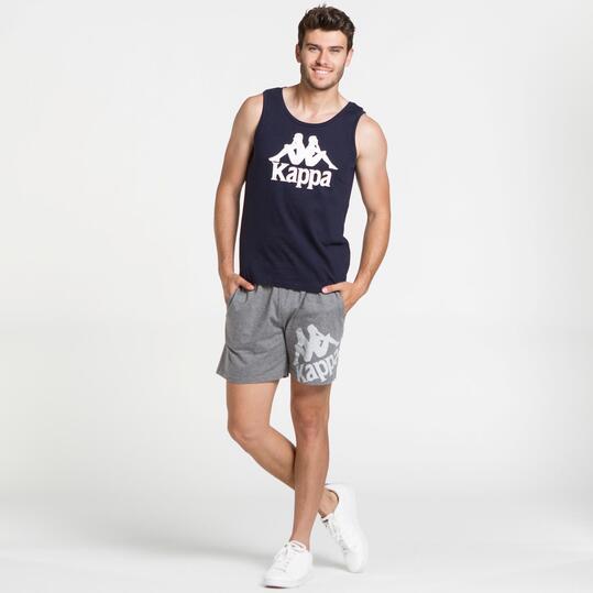 KAPPA Camiseta Sin Mangas Marino Hombre
