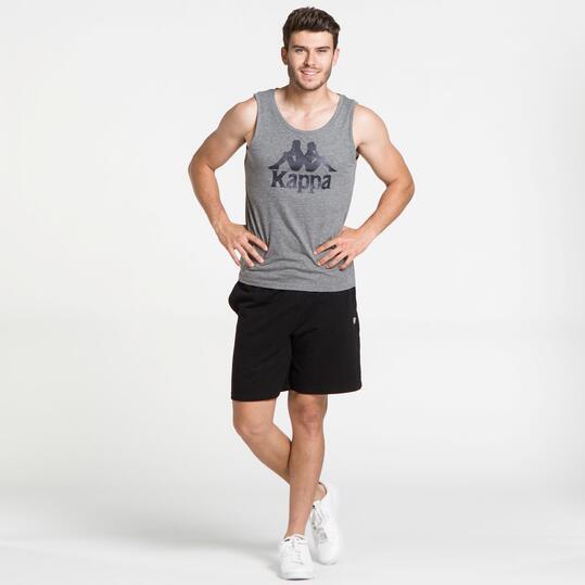 KAPPA Camiseta Sin Mangas Gris Hombre