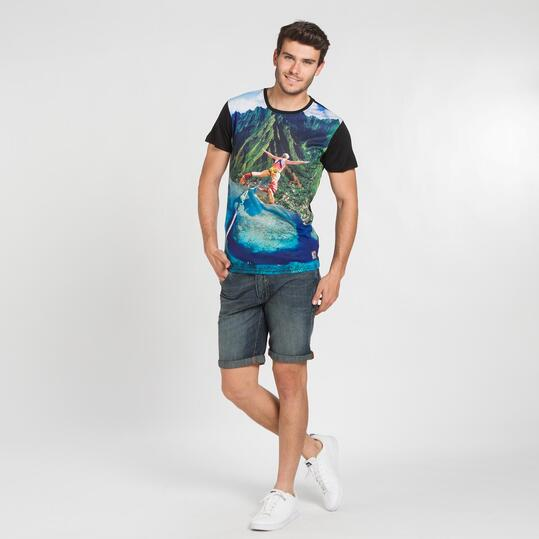 Camiseta Surf TRUNK&ROOT Hombre