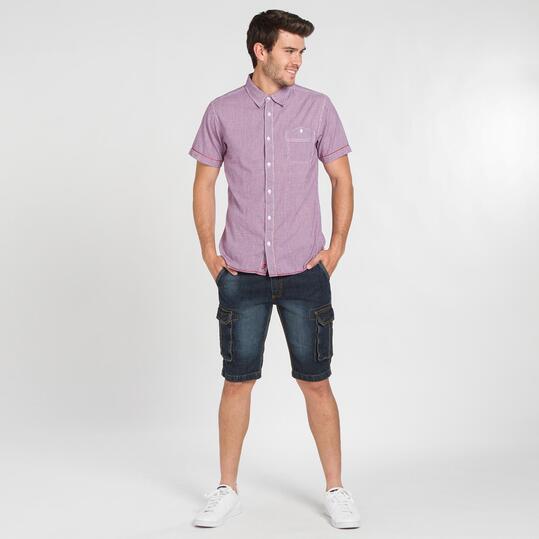 Camisa Cuadro Pequeño TRUNK&ROOTS Hombre