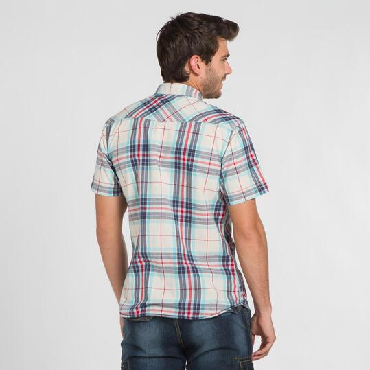 Camisa Cuadros Grandes TRUNK&ROOTS Hombre