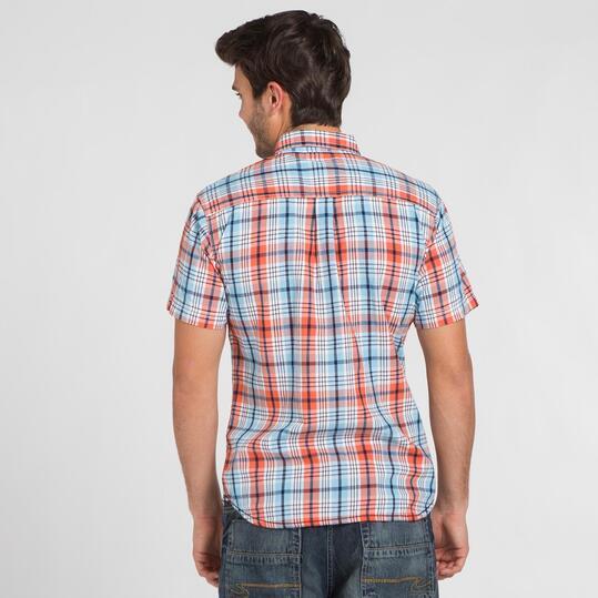 Camisa Cuadros TRUNK&ROOTS Hombre