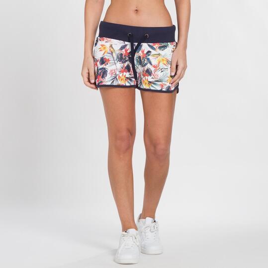 Pantalón Corto Estampado TRUNK&ROOTS Mujer