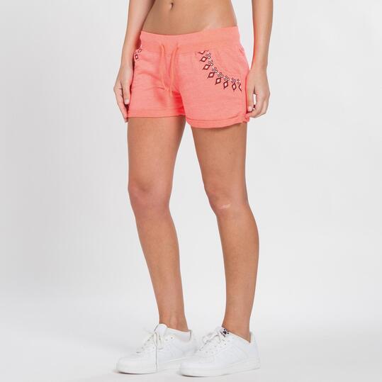 Pantalón Corto TRUNK&ROOTS Coral Mujer