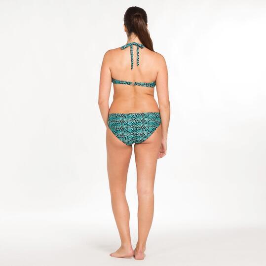Bikini SILVER Turquesa Negro Mujer (S-XL)