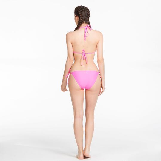 Bikini Triángulo SILVER Fucsia Mujer