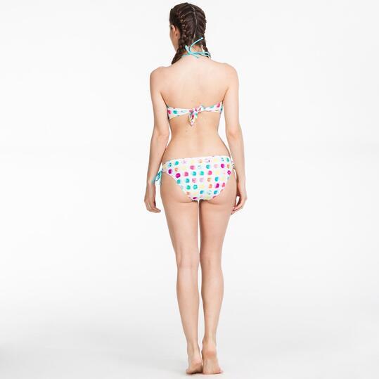 Bikini Bandeau SILVER Lunares Multicolor Mujer