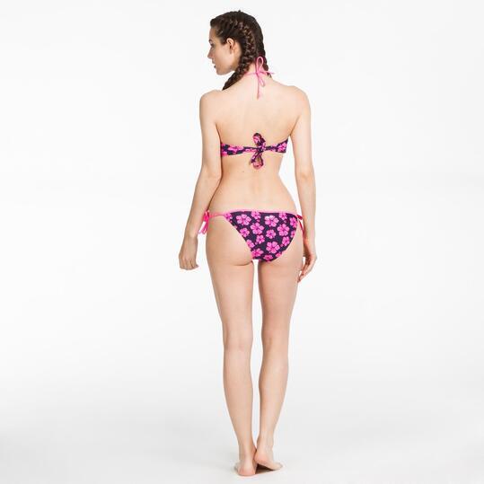 Bikini Bandeau SILVER Estampado Mujer