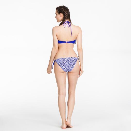 Bikini Bandeau SILVER Flecos Mujer