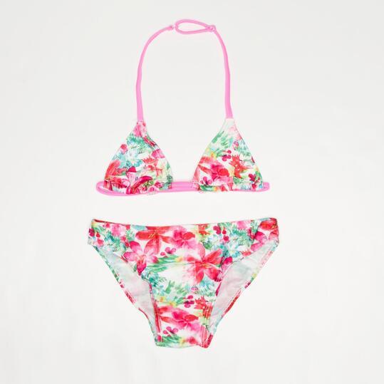 Bikini Triángulo SILVER Estampado Niña (10-16)