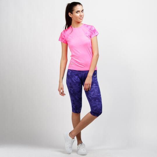 JOMA Camiseta Running Rosa Mujer