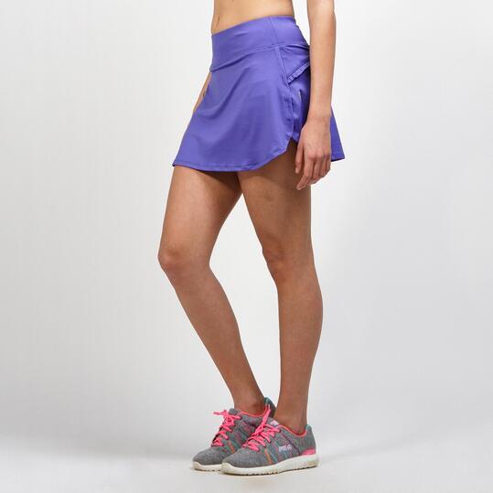 JOMA Falda Pantalón Running Azul Mujer