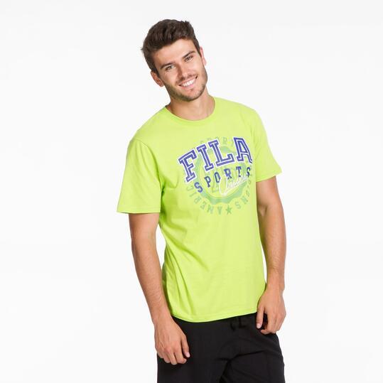 FILA BASIC Camiseta Pistacho Hombre
