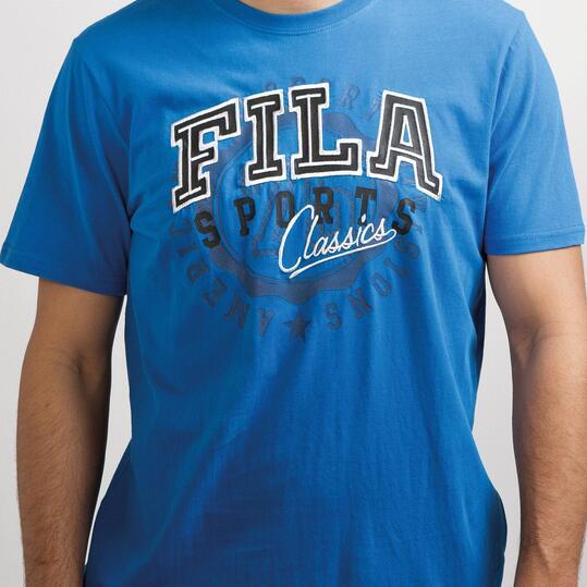 FILA BASIC Camiseta Azul Hombre