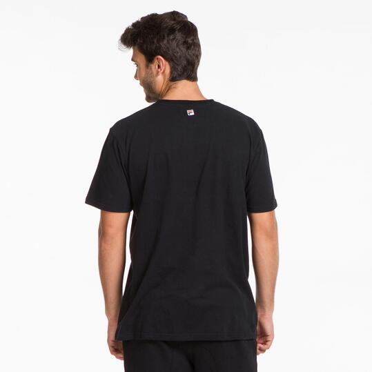FILA BASIC Camiseta Negro Hombre