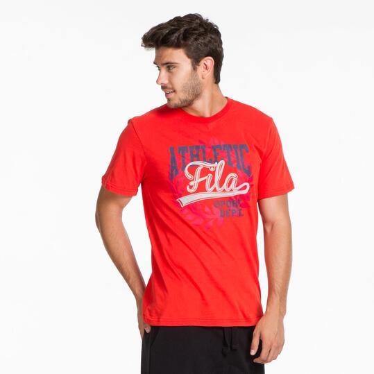 FILA BASIC Camiseta Rojo Hombre