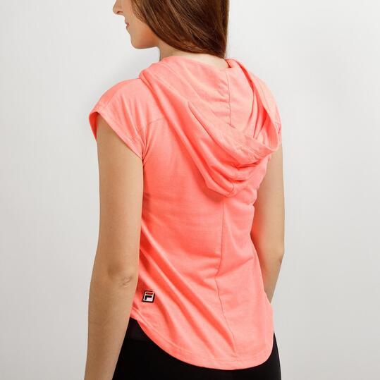 FILA BASIC Camiseta Capucha Coral Hombre