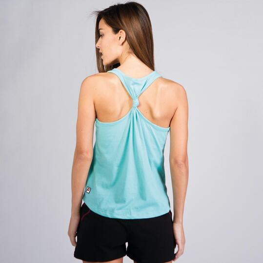 FILA BASIC Camiseta Nadadora Turquesa Mujer