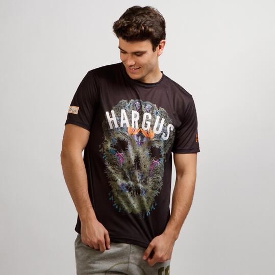 Camiseta Manga Corta HARGUS TROPIC Gris Hombre