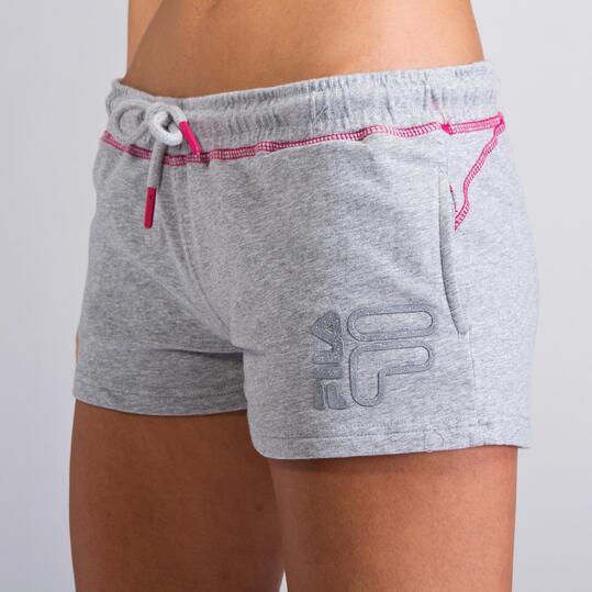 FILA BASIC Pantalón Corto Gris Mujer