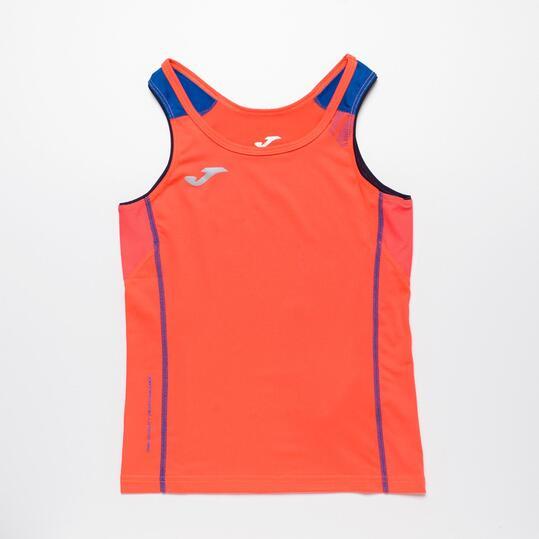 JOMA Camiseta Running Sin Mangas Niño (10-16)