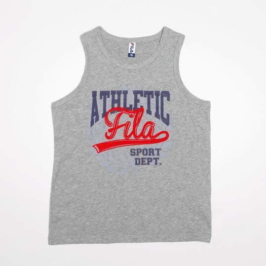 FILA BASIC Camiseta Tirante Gris Niño (10-16)