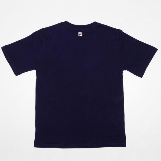 FILA BASIC Camiseta Manga Corta Marino Niño (10-16)