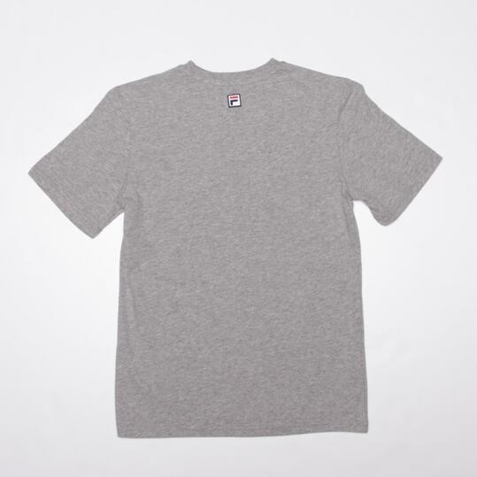 FILA BASIC Camiseta Manga Corta Gris Niño (10-16)