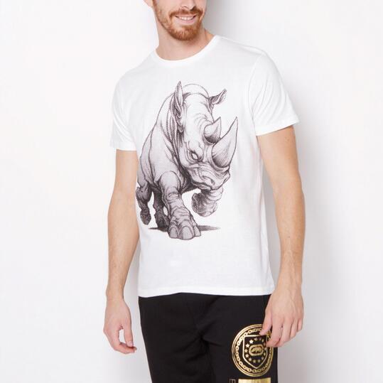 ECKO BIG RHINO Camiseta Blanco Hombre