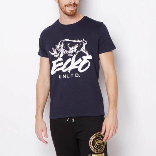 ECKO LUCAS Camiseta Manga Corta Marino Hombre