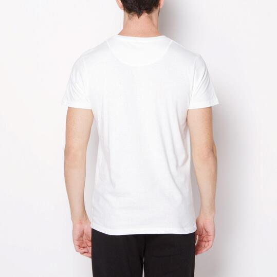 ECKO LUCAS Camiseta Manga Corta Blanco Hombre