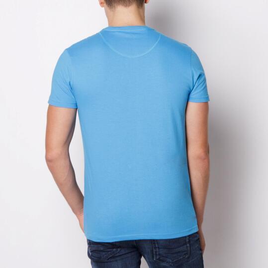 ECKO LUCAS Camiseta Manga Corta Azul Hombre