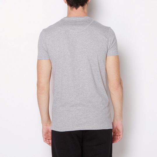 ECKO DEVIN Camiseta Manga Corta Gris Hombre