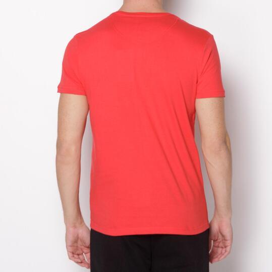 ECKO DEVIN Camiseta Manga Corta Rojo Hombre