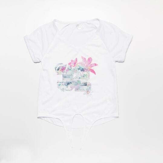 FILA GARDEN Camiseta Blanca Niña (10-16)
