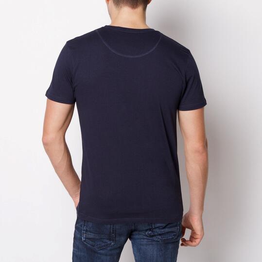 ECKO IN HAND Camiseta Manga Corta Marino Hombre