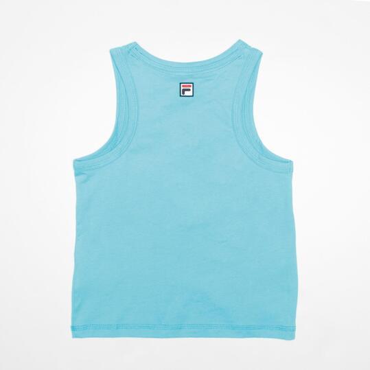 FILA BASIC Camiseta Tirante Turquesa Niño (2-8)