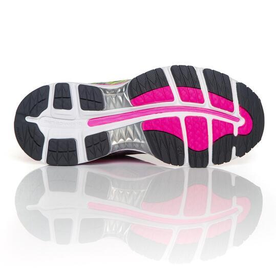 ASICS GEL NIMBUS Zapatillas Running Fucsia Plata Mujer