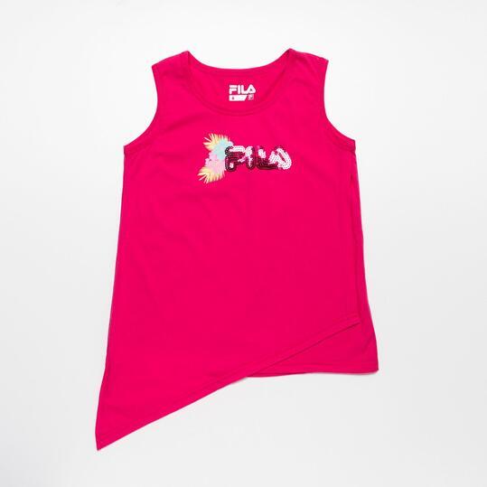 FILA Camiseta Tirantes Fucsia Niña (2-8)